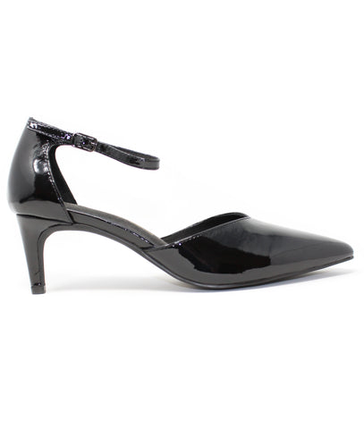 Intentionally Blank Silence Black Patent Pump