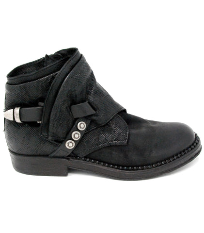 AS98 Vance Nero Ankle Boot