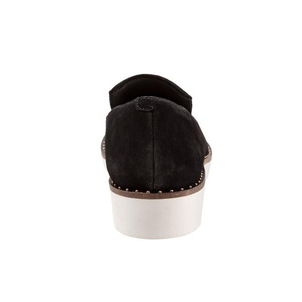 Softwalk Westport Black Flat