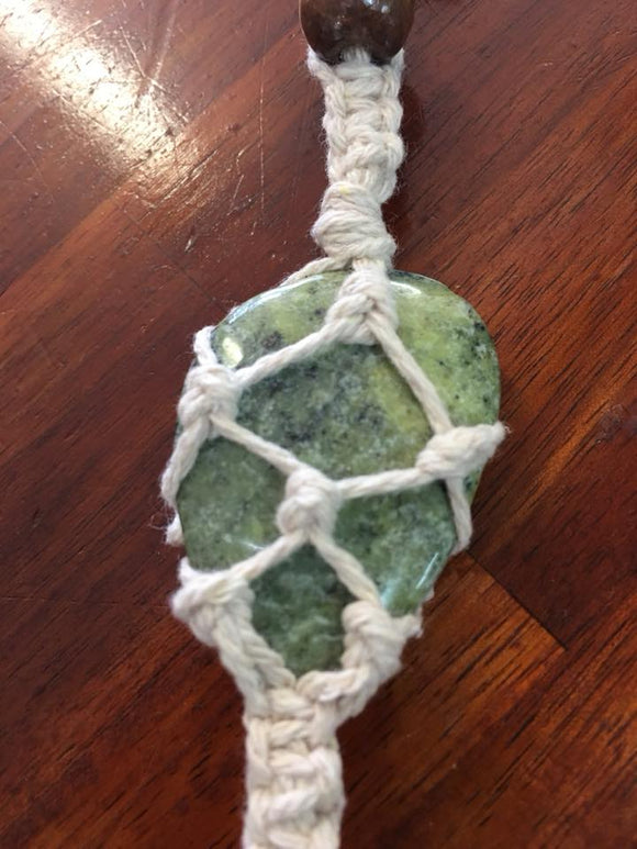 Crystals - Macrame Workshop - Chakra Activation Hanger