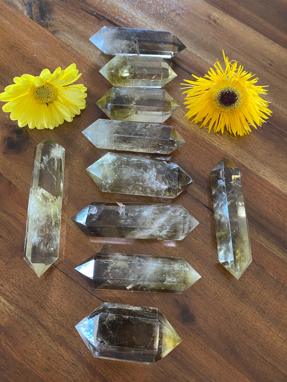 Citrine Double Terminated Wands
