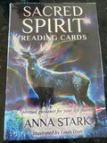 Sacred Spirit Reading Cards/Oracle