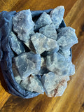 Blue Calcite Tumble Stones