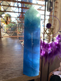 Blue Fluorite Tower