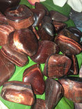 Tigers Eye Tumble Stones Red