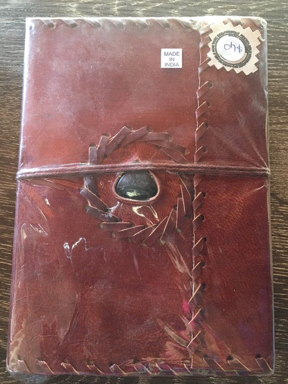 Leather Crystal Journal Large