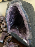 Amethyst Geode Cave with Cacoxenite
