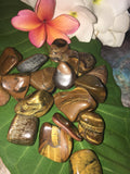 Tigers Eye Tumble Stones Yellow