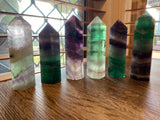 Rainbow Fluorite Towers