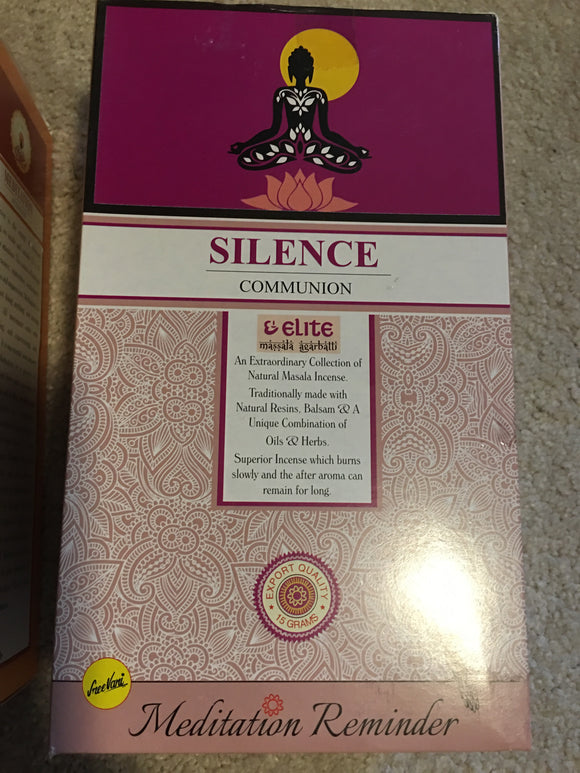 Natural Incense Stick Silence Communion