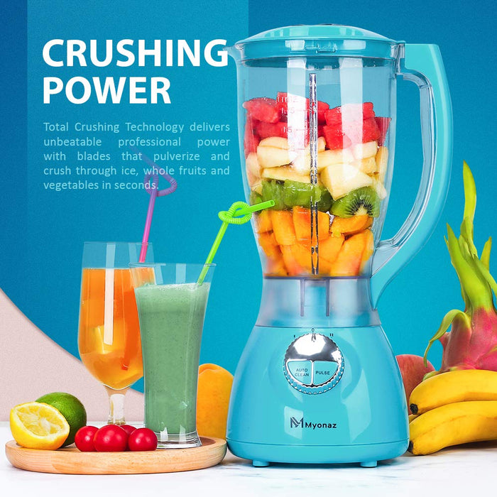 MYONAZ Household Blender with A Grinding Cup