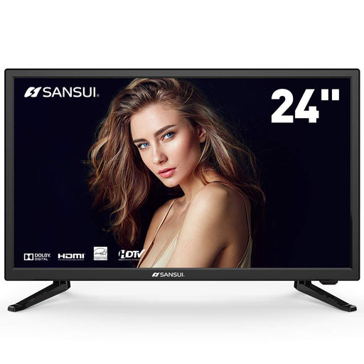 SANSUI LED TV 24'' 1080p HD 60Hz Ultra Slim Flat Electronics Television