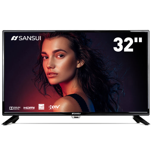"SANSUI LED Televisions 32"" 720p TV with Flat Screen TV"