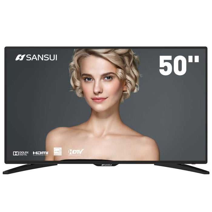 "SANSUI TV LED Televisions 50"" 4k TV with Flat Screen TV"