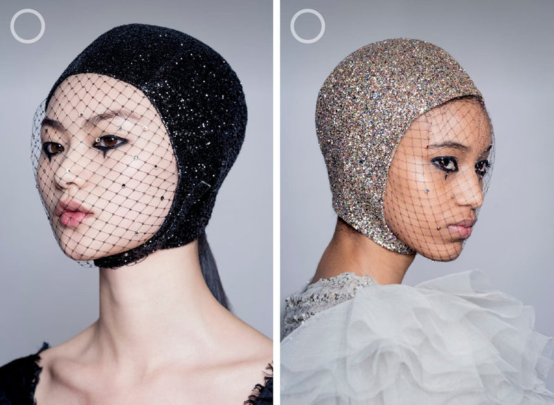 Swimming Caps at Haute Couture Spring/Summer 2019 fashion show. A confirmed trend for spring/summer 2019. 🧡