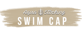 Aquastocking swim cap logo