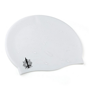 X-Large Swim Cap in White - by Aquastockings