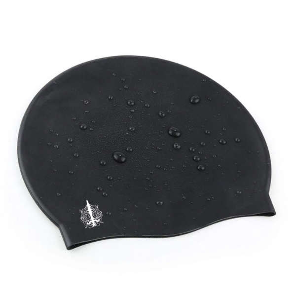 Large Swim Cap in Black - by Aquastockings