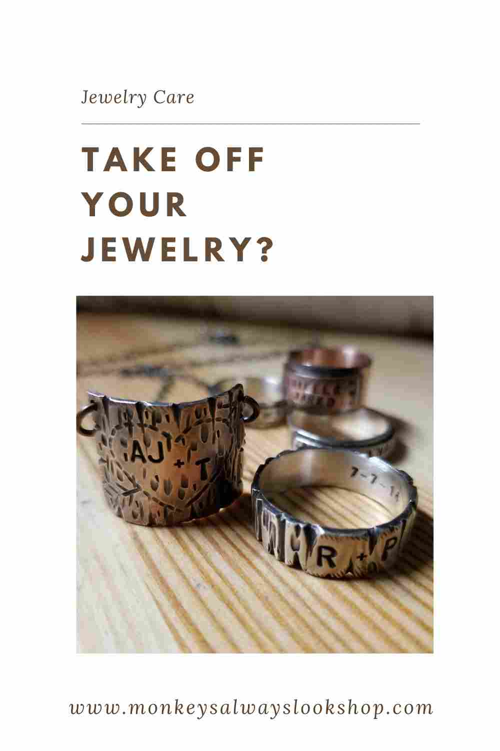 Take off your jewelry?