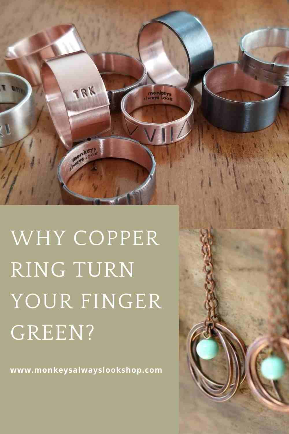 Why copper ring turn your finger green