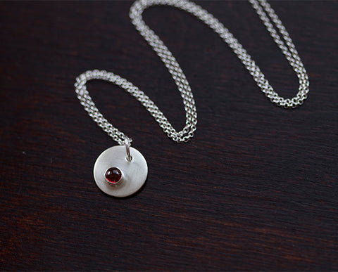 Teardrop Personalized Pendant Necklace (S0344)