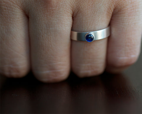 Birthstone Name Ring (S0347)