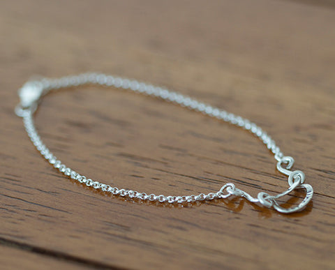Sterling Silver Personalized Bracelet (S0603)