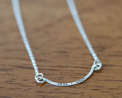 Personalized necklace (S0606)