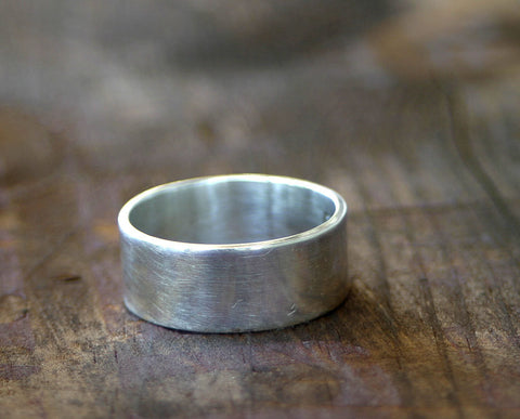 Sterling Silver Wedding Band (S0251)