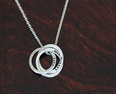 Sterling Silver Trinity Necklace (S0337)