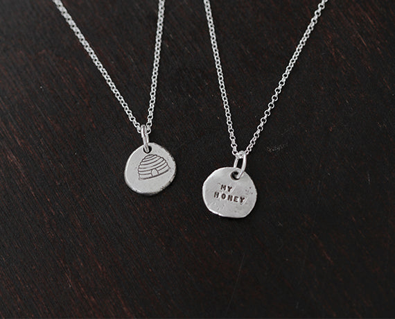 Sterling Silver My Honey Necklace (S0365)