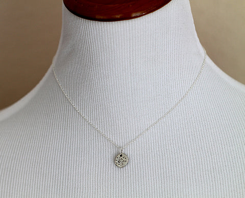 Sterling Silver My Honey BEE Necklace (S0366)