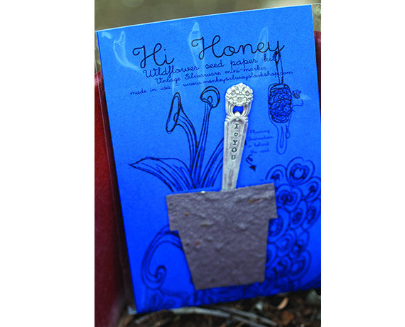 Hi Honey Wildflower Seed Paper Kit (S0425)