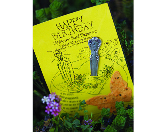 Happy Birthday Wildflower Seed Paper Kit (S0432)