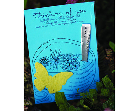 Terrarium - Thinking Of You Wildflower Seed Paper Kit (S0434)