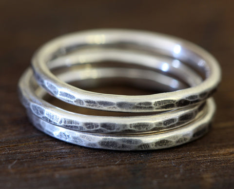 Sterling Silver Stacking Rings (S0197)