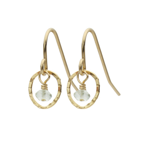 Pear Earrings