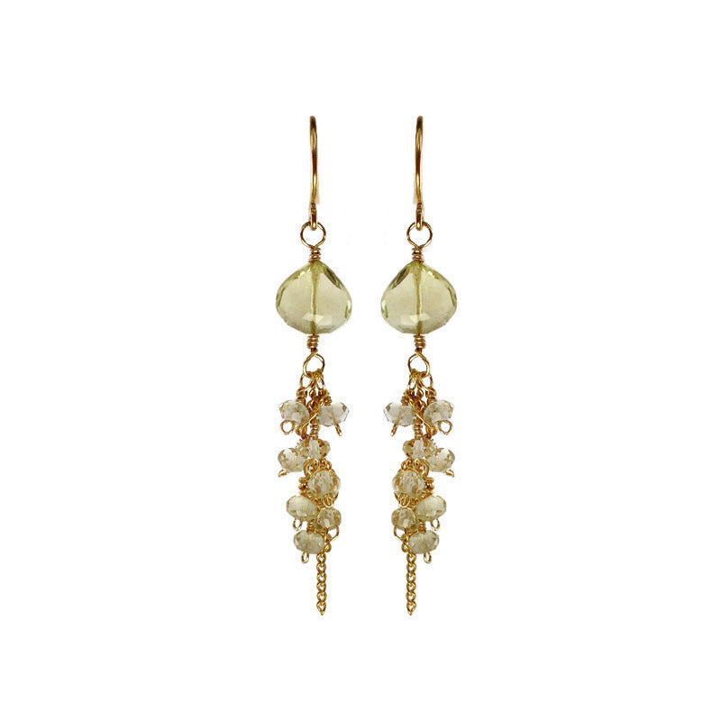 Lemon Topaz Earrings