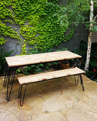 Australian Native White Cypress Pine Tables and Stools