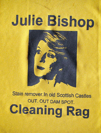 Political Cleaning Cloth - Julie Bishop