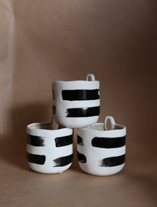 Striped Wall Planter
