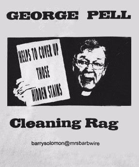 Political Cleaning Cloth - George Pell