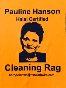 Political Cleaning Cloth - Pauline Hanson