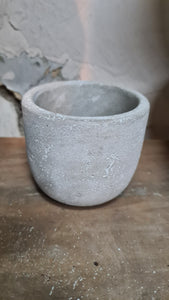 Concrete pot XXS