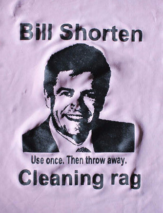 Political Cleaning Cloth - Bill Shorten