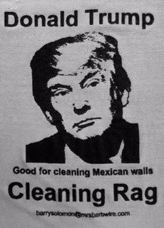 Political Cleaning Cloth - Donald Trump