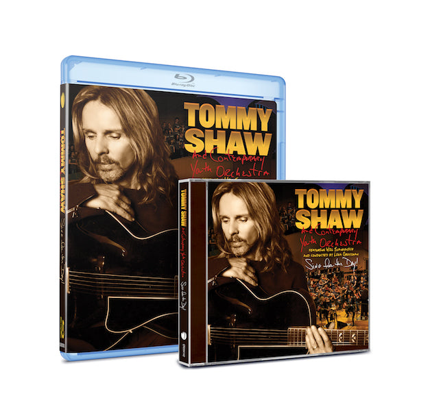 596650f941 SING FOR THE DAY!, TOMMY SHAW's solo 2016 concert performance with the  Contemporary Youth Orchestra made a grand debut on four of Billboard's  charts this ...