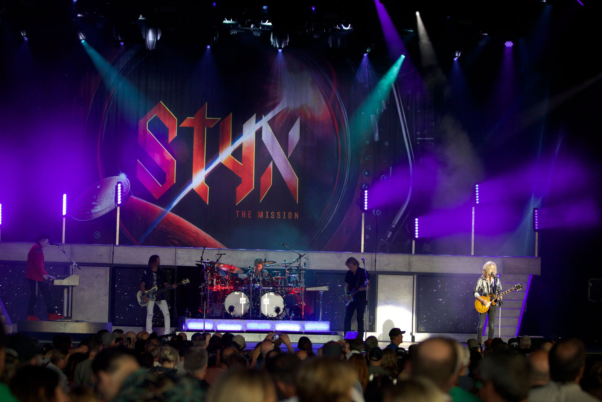 a4aa1bece957a Leg 2 of the summer's hottest tour gets underway tonight in Tampa, Florida.  We check in with Styx, Don Felder, and REO Speedwagon to see how UWR has  been ...