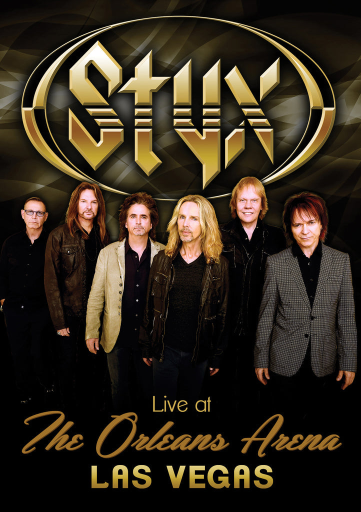 Live At The Orleans Arena Dvd Coming Soon News Styxworld