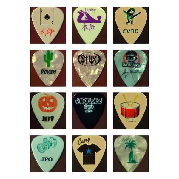 Crew Guitar Pick Set